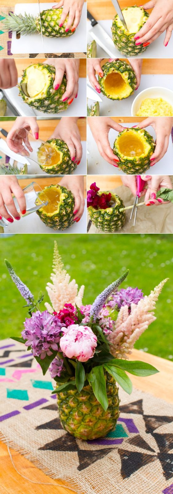 Pineapple-Collage